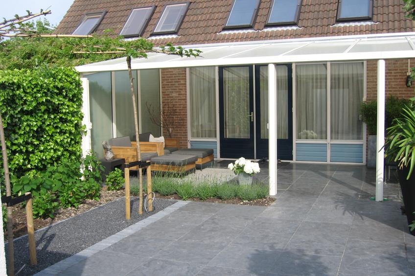 Intieme veranda wijsman tuinoverkappingen